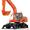 компания предлагает: экскаваторы гусеничные,  колесные    #75239