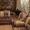 угловой диван и кресло #1077588