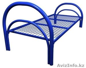 Кровати металлические для интернатов, кровати для студентов, кровати дёшево - Изображение #2, Объявление #1422060