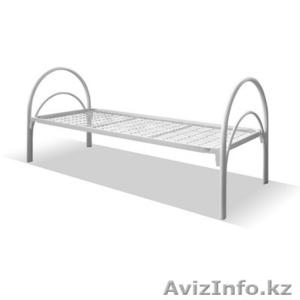 Кровати металлические для интернатов, кровати для студентов, кровати оптом. - Изображение #2, Объявление #1421157