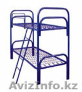 Металлические кровати для пансионатов, кровати для детских лагерей, низкие цены - Изображение #1, Объявление #1417612