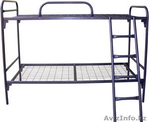 Кровати металлические для интернатов, кровати для студентов, кровати дёшево - Изображение #1, Объявление #1422060