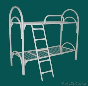 Кровати металлические двухъярусные, одноярусные, кровати для рабочих, оптом. - Изображение #5, Объявление #1418624