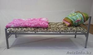 Кровати металлические двухъярусные, одноярусные, кровати для рабочих, оптом. - Изображение #4, Объявление #1418624