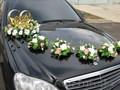 Большой выбор украшений для свадебной машины