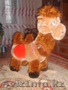 Игрушка верблюд-качалка